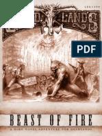 Deadlands - Beast of Fire