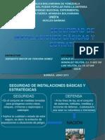 Seguridad de Instalaciones Básicas y Estratégicas - Instrucción Militar III