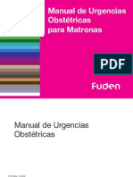 Manual Urgencias Obstetricas