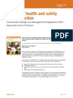 HSE Managing Health and Safety in Construction