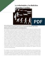 Biología Evolucionista y Dialéctica