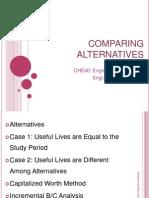 06 - Comparing Alternatives