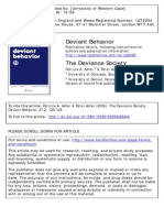 Deviant Behavior Volume 27 Issue 2 2006 [Doi 10.1080%2F15330150500468444] Adler, Patricia a.; Adler, Peter -- The Deviance Society