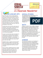 newsletter nov  7 2014
