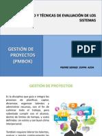 Gestión de Proyectos (PMBOK)