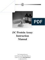 Instruction Manual, DC Protein Assay
