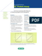 RC DC Protein Assay Product Information Sheet, Rev D