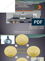Reactores No Isotérmicos Continuo