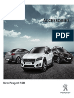 Peugeot New 508 Accessories Brochure