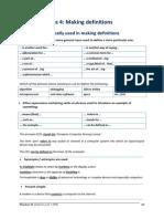 Unit 3b Making Definitions 2014 15