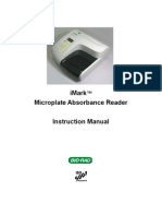 iMark™ Microplate Absorbance Reader Instruction Manual