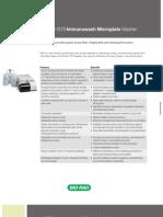 Model 1575 Immunowash Micro Plate Washer
