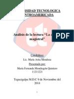 Tarea No.5.1_ Análisis de La Lectura_La Aptitud Magistral_Fernanda_Mondragon_11211221