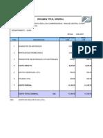 Presupuesto Linea Primaria