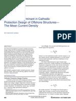 Mean current Density