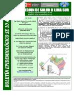 Boletin Epidemiologico Se 10 2014 Disa II Ls