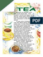 Reading Comprehension Tea