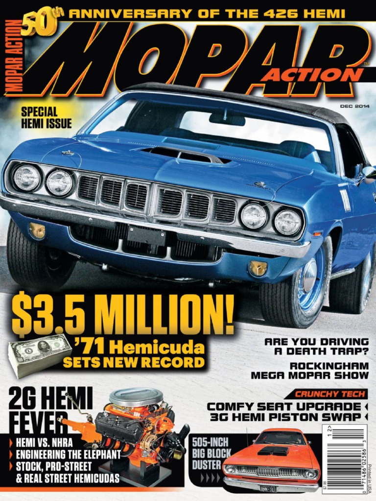 Moparm Action - December 2014 USA | Chrysler | Motor Vehicle