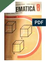 Manual geometrie clasa a VIII-a editia 1983