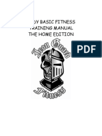 Martial Arts Fitness Manual
