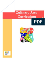 Culinary Arts Curriculm