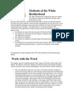 Methods of the White Brotherhood.doc
