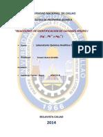 Reacciones de Identificacion de Ag , Hg y Pb