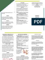 sanidad militar  folleto