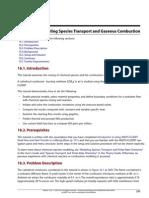 Tut 01 Intro Tut 16 Species Transport