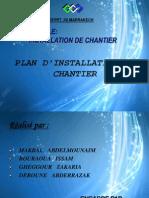 Plan D_installation de Chantier Ppt