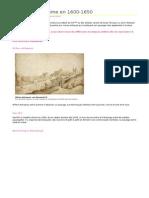 Le Paysage à Rome en 1600-1650