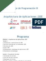 Arquitectura de Aplicaciones J2EE
