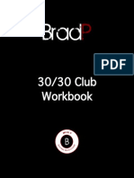 30 30 Club Gold Workbook