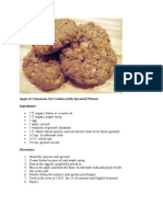 Apple&Cinnamon Oat Cookies