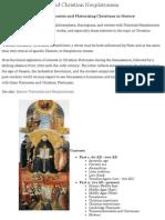 Christian Platonists and Christian Neoplatonists