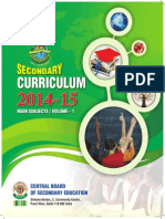 2014 15 Secondary Curriculum Volume 1