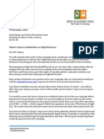 2014 Mayoral Candidate letters
