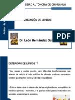 Oxidacion de Lipidos