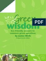 Green Wisdom