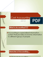 lecture on cost accounting introduction