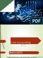 Basics of Cost Accounting
