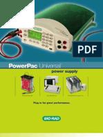 Bulletin PowerPacUniversal