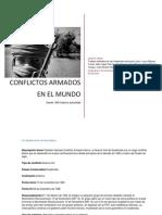 Conflictos armados en el mundo