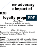 Customer Advocacy and the Impact of B2B Loyalty Programs_k2opt