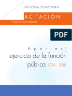 Aportes para el ejercicio de la función pública