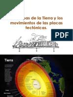Las Capas de La Tierra y Los Movimientos