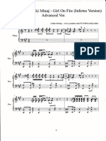 The Heart Asks Pleasure First Sheet Music For Piano And