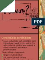 Curs 2 Personalitatea