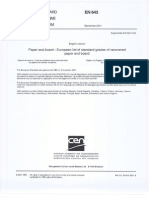 En643 2001 Paper&Board Standard Grades of Recovered Paper&Board