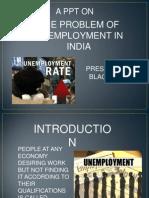 Ppt on Unemployment